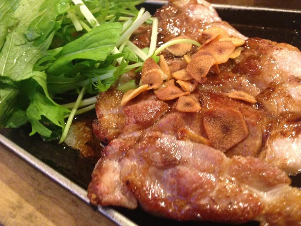 豚道楽 トンテキ
