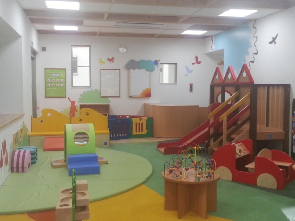 まちなみ公園イベントでは豊洲キッズルームにて託児サービスを行います。