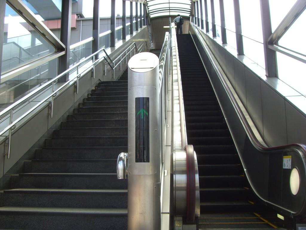 現在の豊洲駅