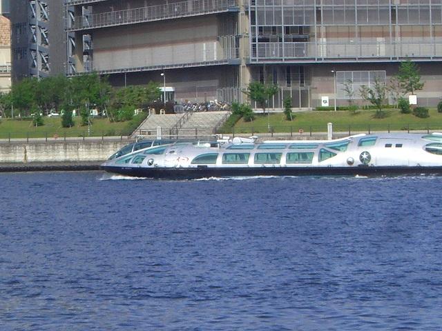 豊洲から乗れるの水上バス、ヒミコ