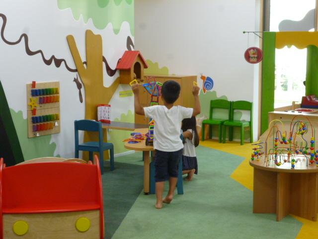豊洲まちなみ公園の託児サービス