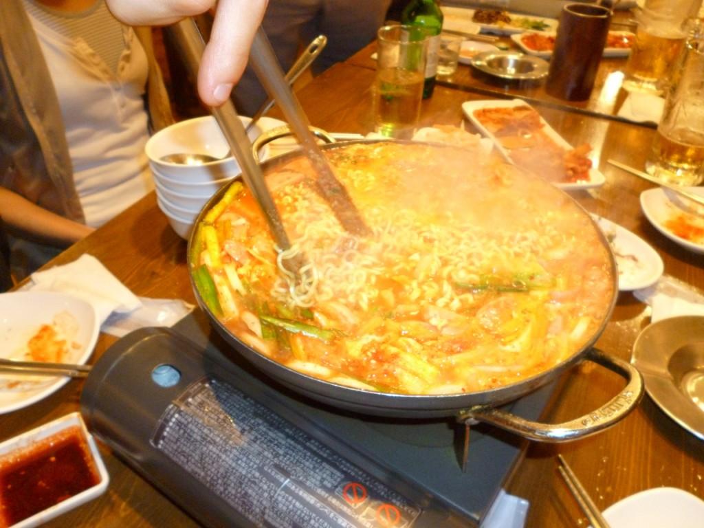 豊洲の韓国食堂チャンでオフ会しました。