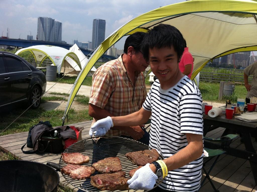 豊洲マガジン初のイベントはWILDMAGICでバーベキューアウトドア慣れした人が必要です。