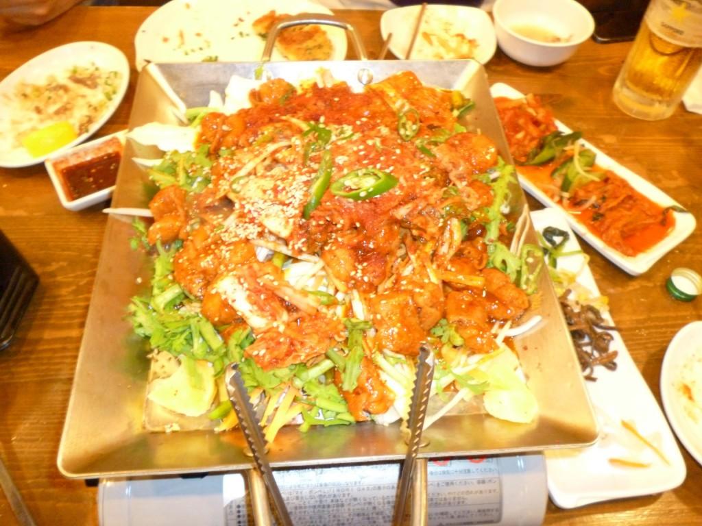 豊洲、韓国食堂チャンでオフ会やりました。