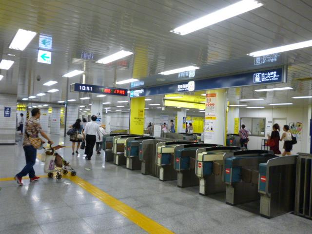 豊洲駅改札