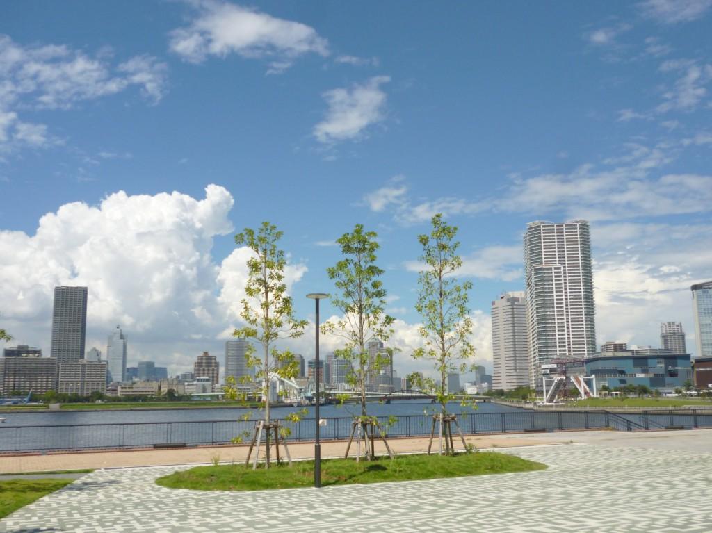 豊洲キッズルームは豊洲公園に隣接しています。