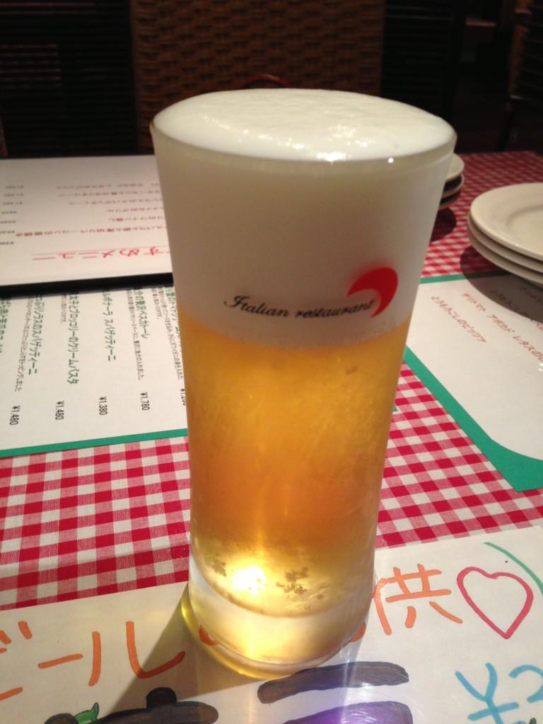 豊洲 テスタロッサ ビール