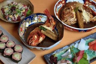 豊洲安庵のお魚料理