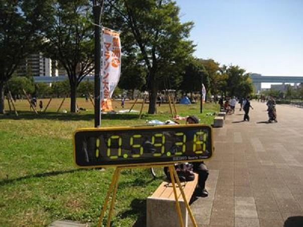 入沢さんよりマラソンタイム150%