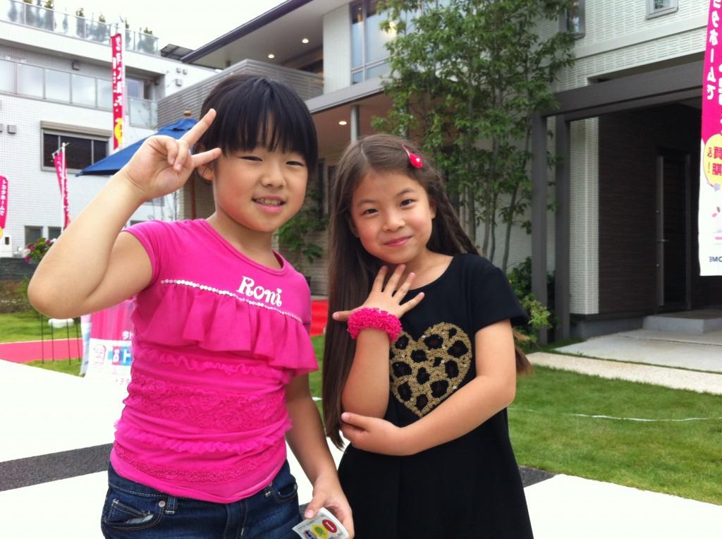 BOSAI EXPO 2013 in TOYOSUのイベントに来ていた小学生