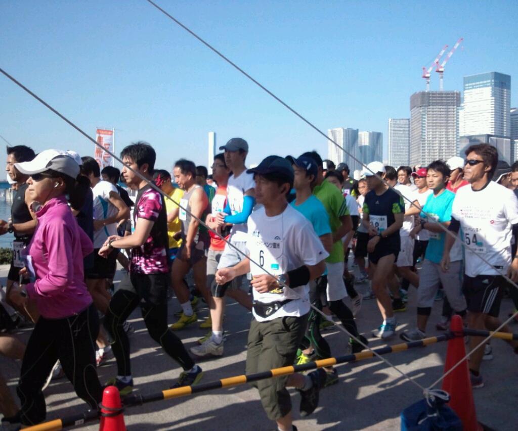 豊洲マラソンの様子