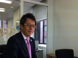 今週の素敵な豊洲人・松井哲也さん