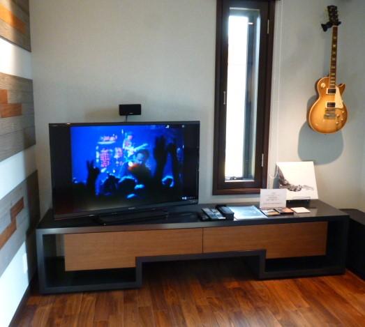三井ホームの音楽室