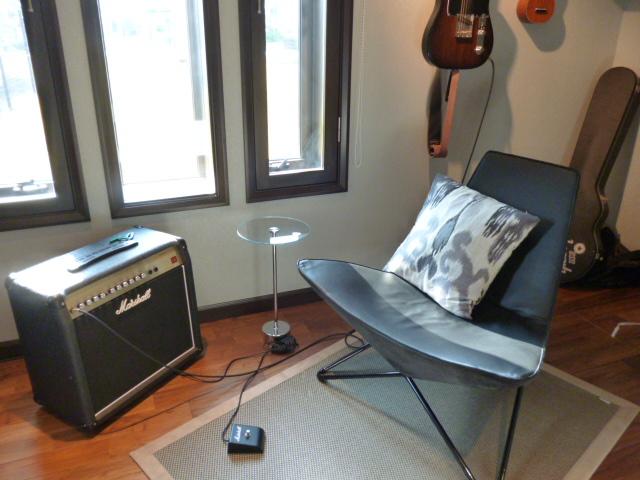 豊洲まちなみ公園の三井ホームの音楽室