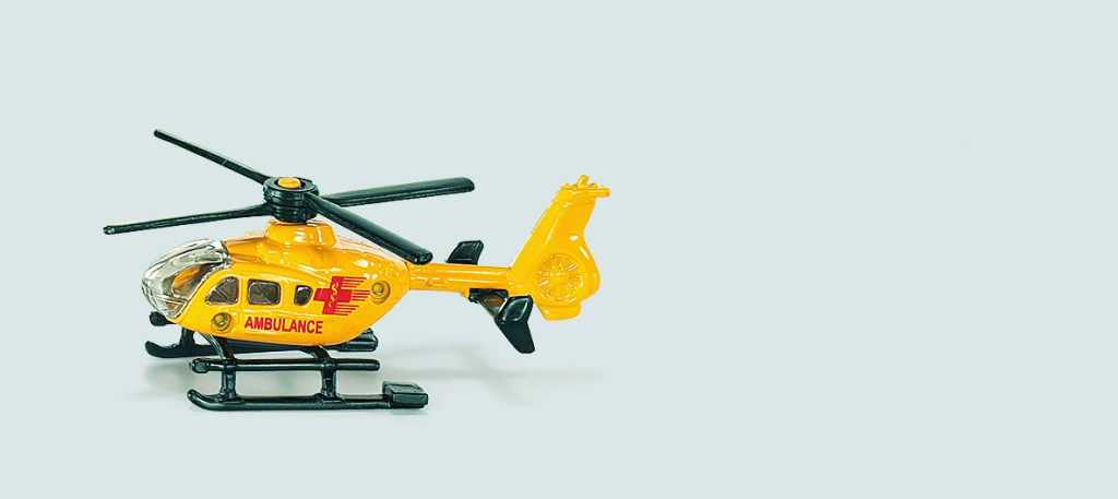 プレゼントのヘリコプター