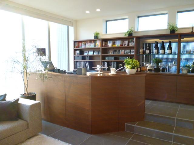 旭化成ヘーベルハウスの書斎スペース