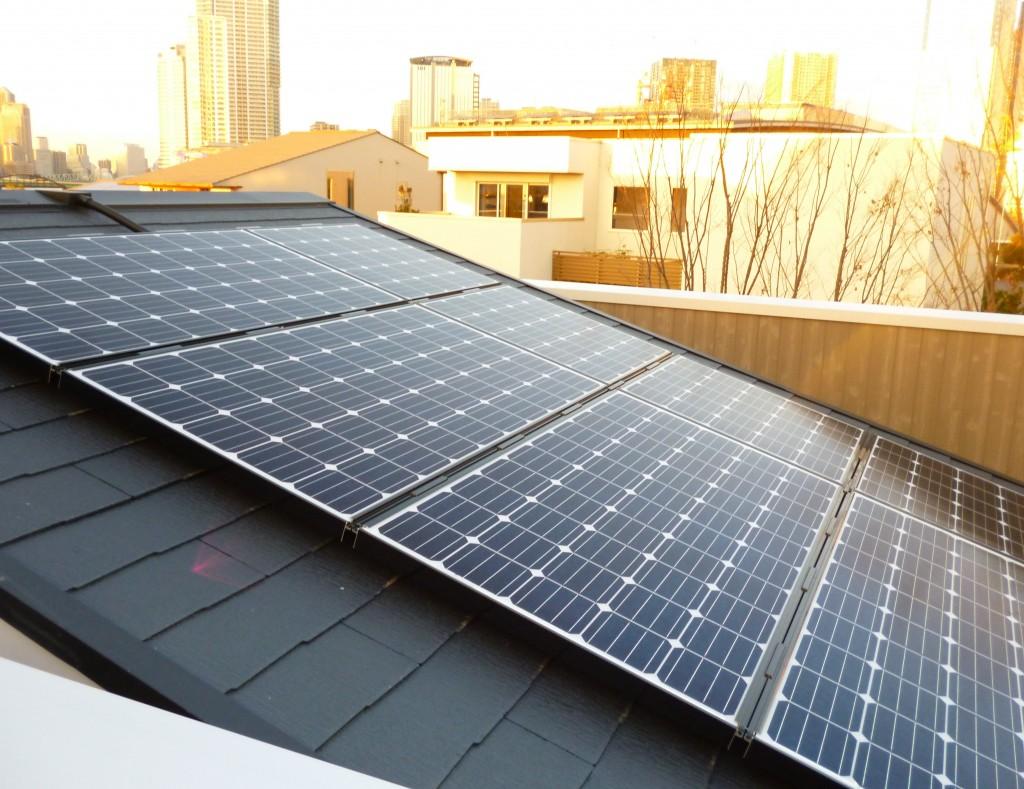 ヤマダ・エスバイエルホーム太陽光発電システム