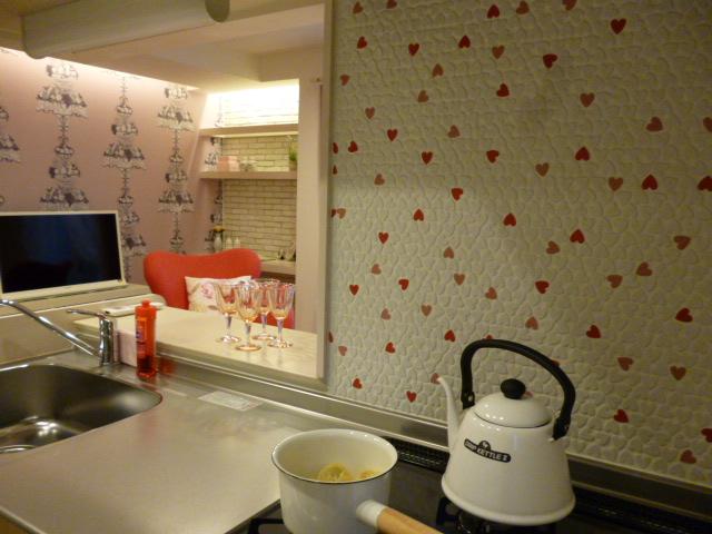 豊洲ダイワハウスDルーム、キッチン