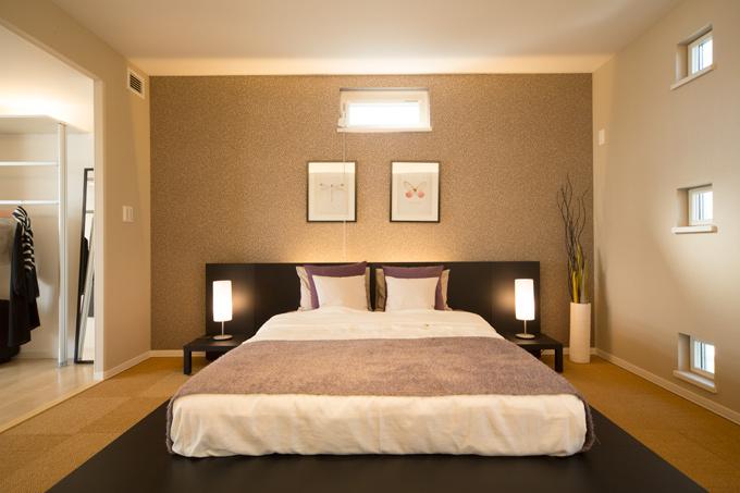 セキスイハイム豊洲2階寝室