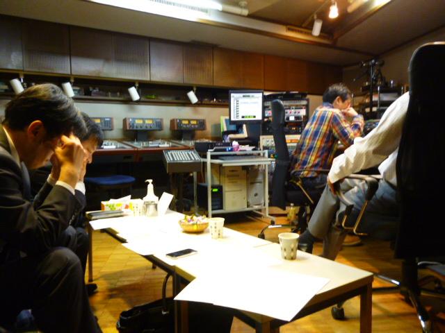 TOKYO FMドライバーズインフォの収録風景