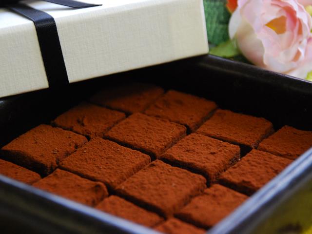 まちなみ公園でのチョコレートラッピング教室イメージ