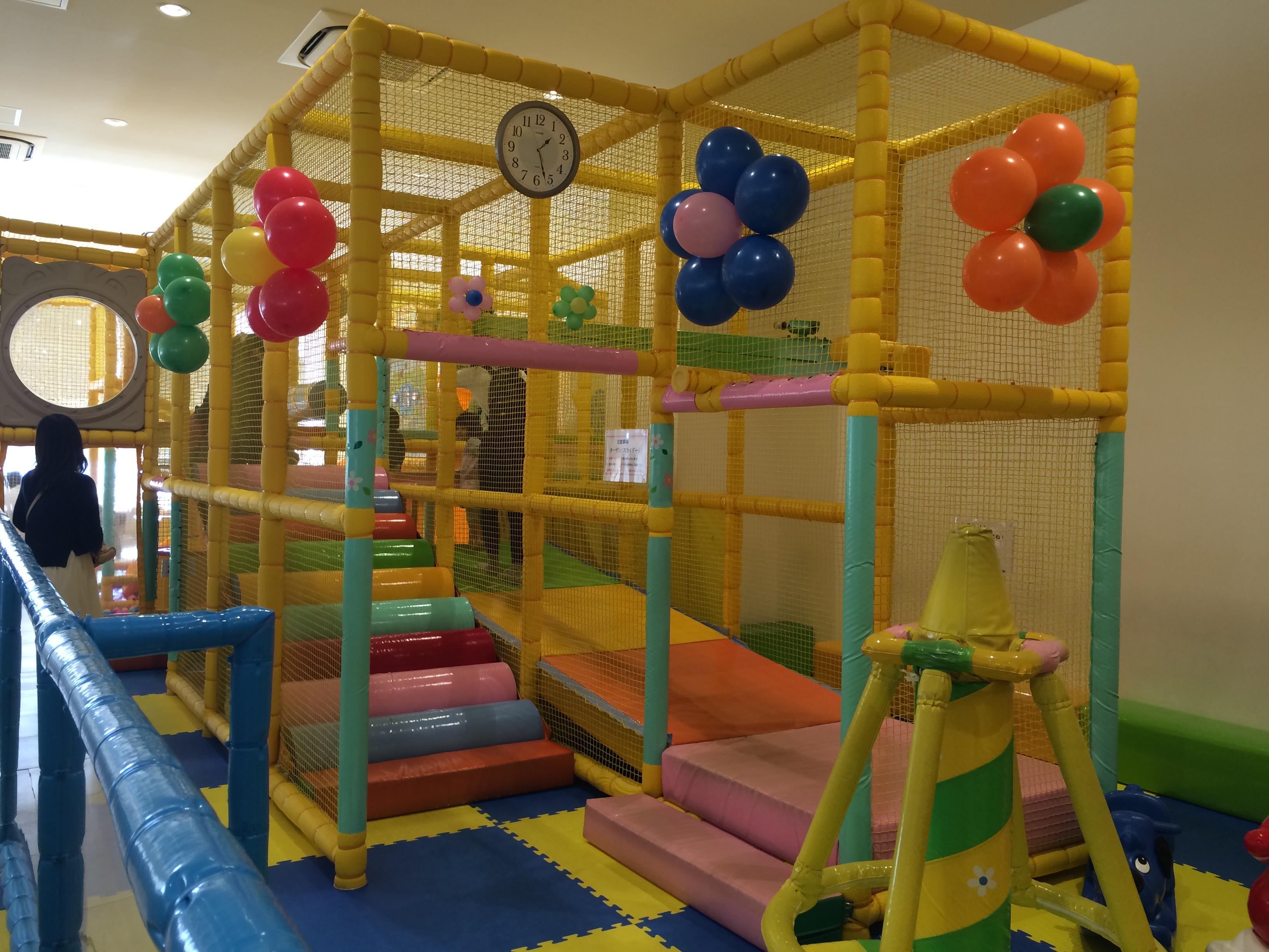ららぽーと豊洲 子供の遊び場