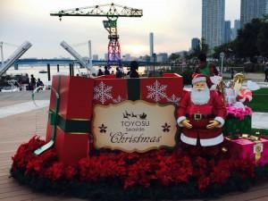 ららぽーと豊洲 クリスマス1  豊洲マガジン