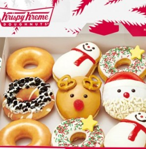クリスマス限定クリスピークリームドーナツ 6 豊洲マガジン