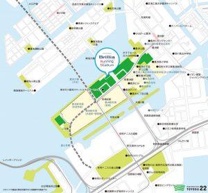 新豊洲 Brillia ランニングスタジアム 地図 豊洲マガジン