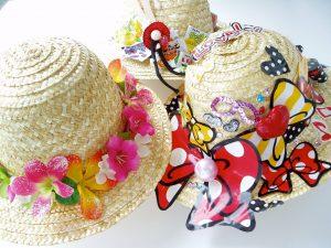 オリジナル麦わら帽子づくり 豊洲まちなみ公園 豊洲マガジン