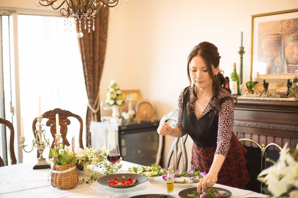 料理研究家 ソムリエ カンナさん 1 豊洲マガジン