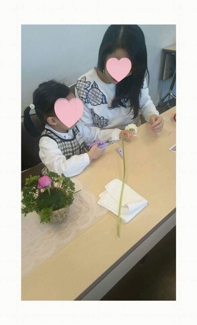 子供向けフラワーアレンジメント 木澤朋子 6 豊洲マガジン
