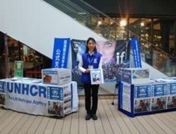 ららぽーと豊洲 国連難民支援キャンペーン1  豊洲マガジン