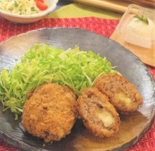 東京ガスオリジナル教室 豊洲肉フェス!!2017 ~お肉屋さんのとろーりチーズメンチカツ~ 豊洲マガジン