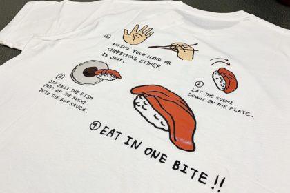 豊洲ご当地Tシャツ